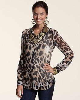 Animal Glitz Lanie II Top