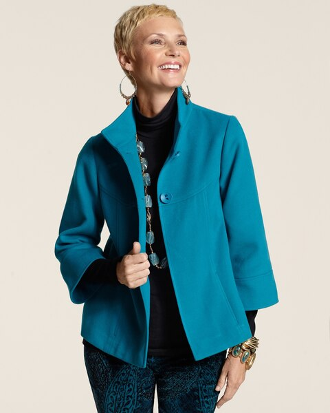 Light Plush Saila Swing Jacket