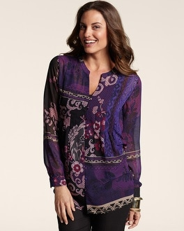 Violet Blends Andelle Top