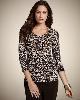 Travelers Classic Artistic Animal Top