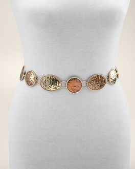 Hammered Eclipse Belt