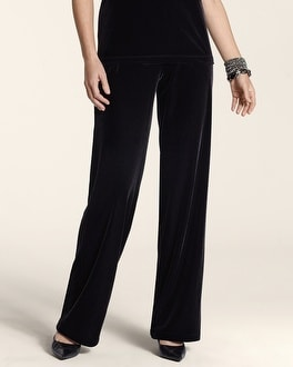 Travelers Collection Velvet Fluid Pant