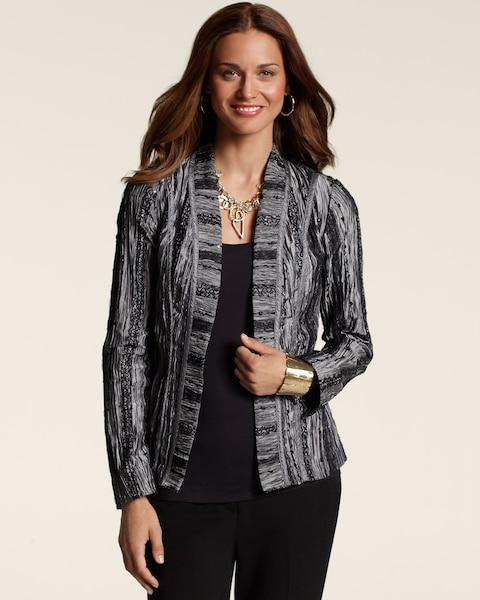 Silver Earlene Lacey Jacket