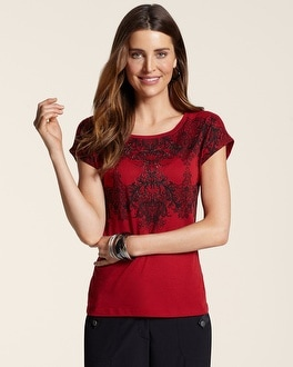Zenergy Bristol Scroll Print Tee