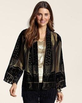 Shiney Burnout Jacket