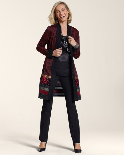 Red Patchwork Duster
