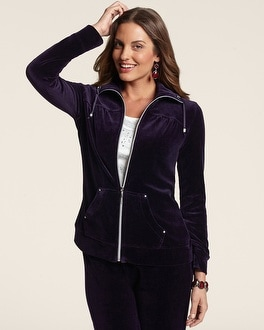 Zenergy Velour Jacket