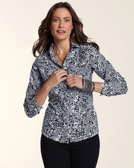 Effortless Luxe Animal Naya Shirt