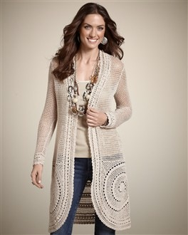 Castle Crochet Cardigan