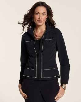 Zenergy Chloe Chain Trim Jacket