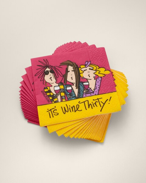 Wine Thirty Napkin