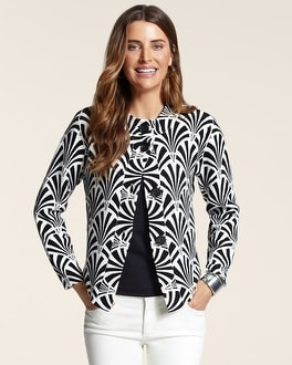 Graphic Fans Empress Cardigan