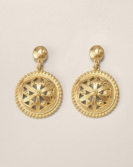 Onita Drop Pendant Earring