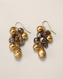 Yasmia Drop Cluster Earring