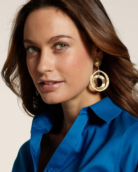 Cavi Clip Pendant Earrings