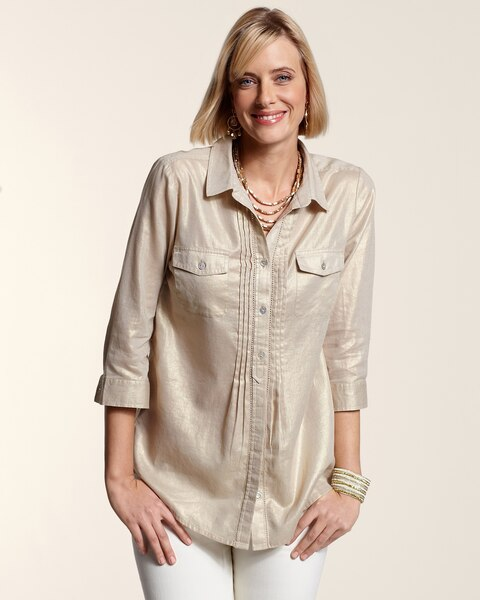 Touch of Shimmer Shirley II Top