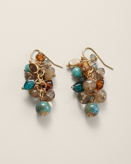 Zola Drop Cluster Earring