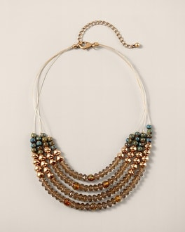 Zola Beaded Multi-Strand Necklace