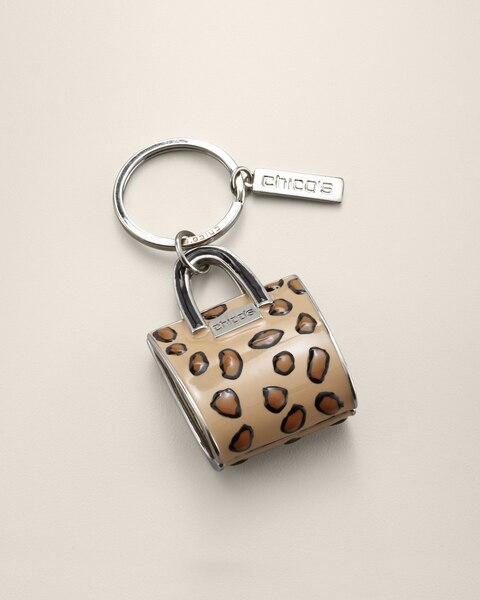 Shopping Bag Key Chain