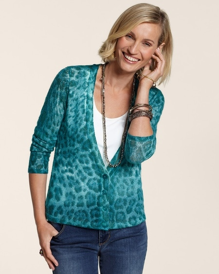 Charming Cheetah Charlene Cardigan