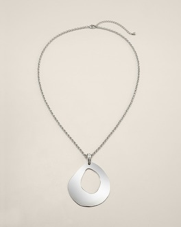 Jilina Metal Pendant Necklace