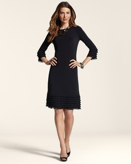 Sheath Fringe Loop Dress