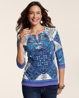 Grand Statement Embellished Tunic