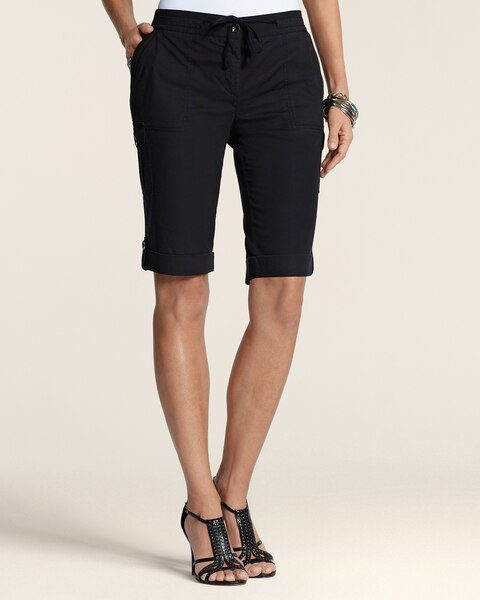 Cool Cotton Utility Shorts