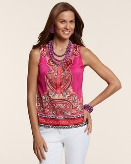Partly Paisley Mia Tank