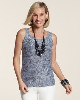 Space Dye Cleo Sweater Tank