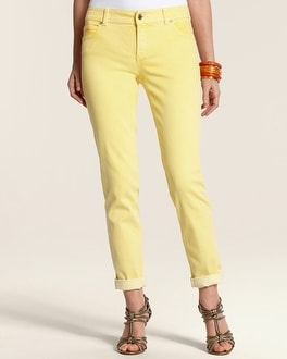 So Slimming By Chico's Roll Cuff Ankle Jean
