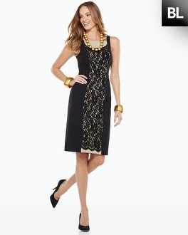 Black Label Lace Dress