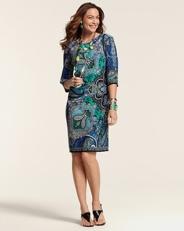 Natalie Paisley Dress