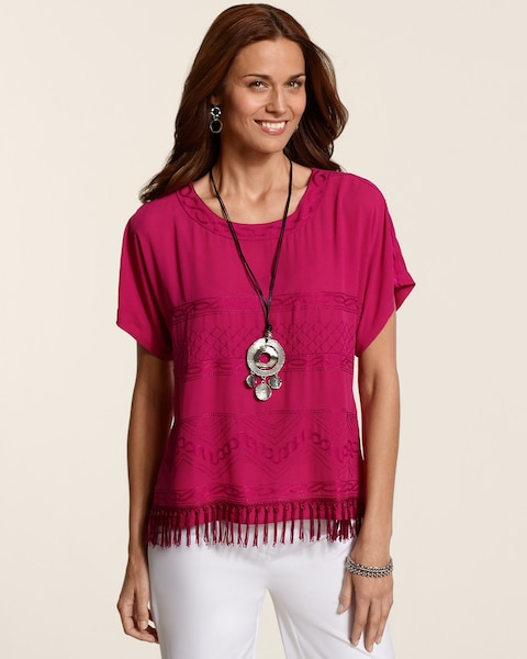 Tiered Fringe Zoe Top
