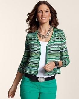 Stylish Zig Zag Carly Cardigan
