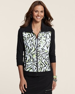 Zenergy Golf Boomerang Print Jacket