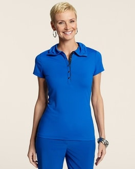 Zenergy Golf Bethany Embellished Polo