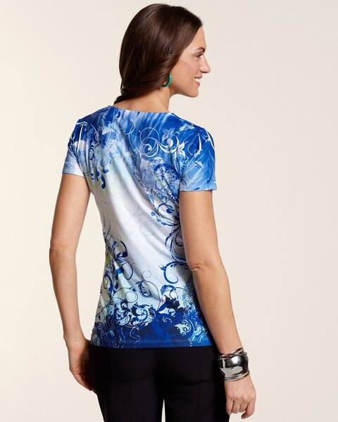 Vivian Sublimated Print Tee