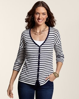 Striped Marisela Cardigan