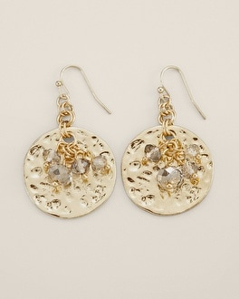 Selma Drop Pendant Earring