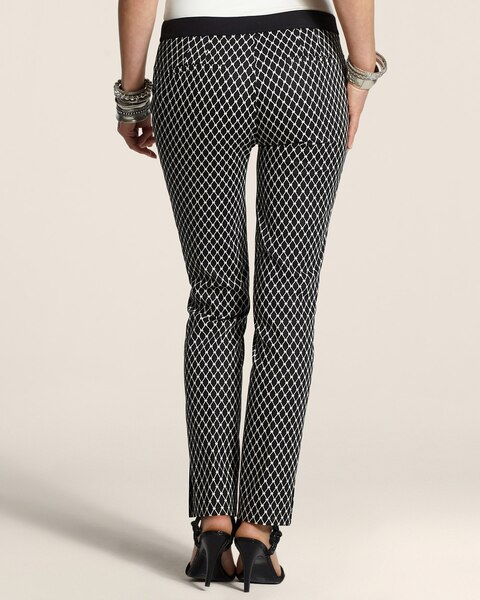 Black Diamond Ankle Pants
