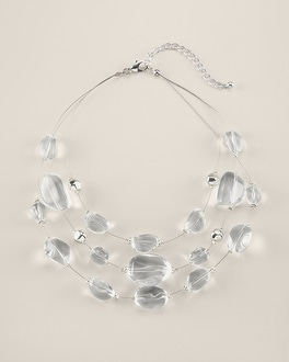 Frost Illusion Necklace