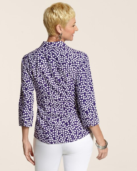 Effortless Fiesta Dot Gabrielle Shirt