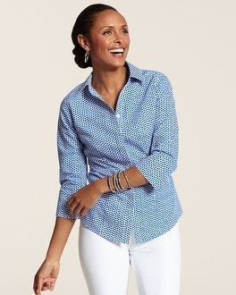 Effortless Whimsy Dot Gabrielle Top