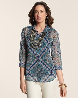 Composite Jewels Janie III Top