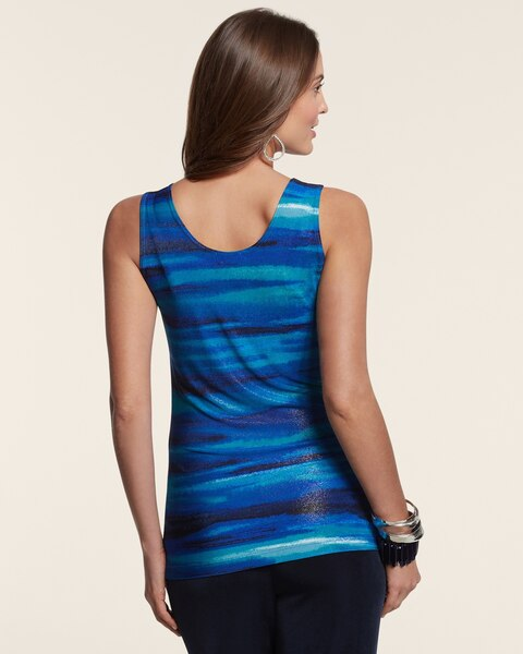 Ombre Wave Contemporary Tank