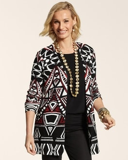 Tribal Abstract Tenley Cardigan