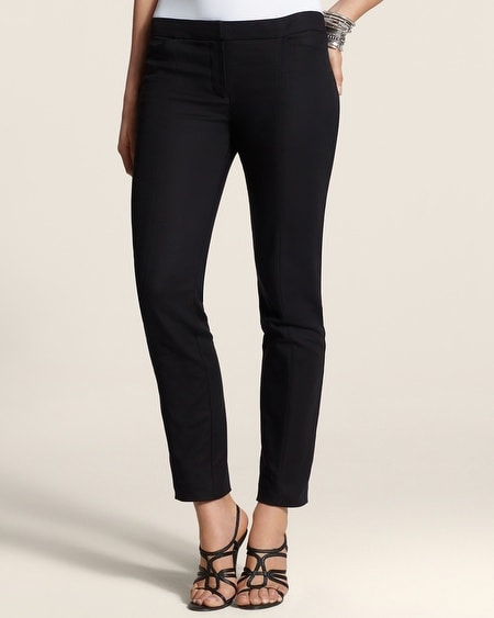 Smooth Stretch Ankle Pants