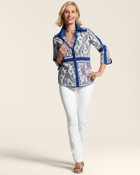 Effortless Paisley Fancy Daniela Shirt
