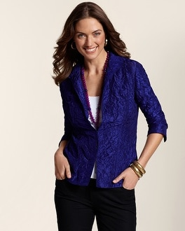 Zelma Crinkled Jacket